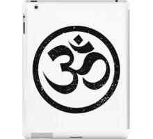 Vintage Yoga Ohm Symbol iPad Case/Skin
