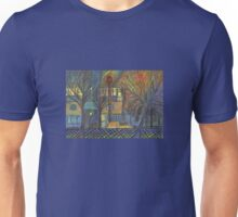 Night Time on Barns Road Unisex T-Shirt