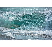 Hawaiian Style Shore Break  Photographic Print