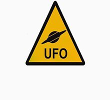 UFO Warning Sign Unisex T-Shirt