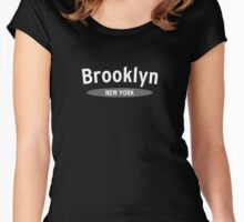The Big Apple, NYC Women's Fitted Scoop T-Shirt