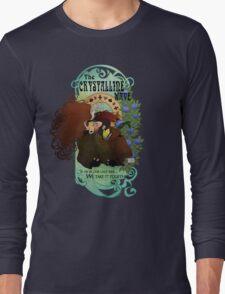The Crystalline Wave Long Sleeve T-Shirt