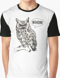 Whom Graphic T-Shirt