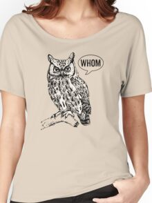 Whom Women's Relaxed Fit T-Shirt