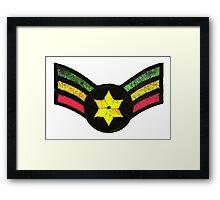 Reggae Star of David Framed Print