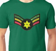 Reggae Star of David Unisex T-Shirt