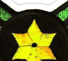 Reggae Star of David Sticker