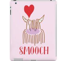 Highland Cow Smooch Balloon iPad Case/Skin