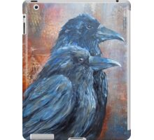 Members of the Jury ( Murder of Crows Series) iPad Case/Skin