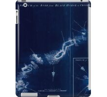 American Revolutionary War Era Maps 1750-1786 895 Sketch of the road from Black Horse to Crosswick Inverted iPad Case/Skin
