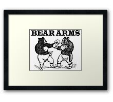 Bear Arms - A Right and a Left Framed Print