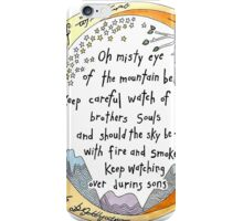 lOTR The Ring, quote, My precious iPhone Case/Skin