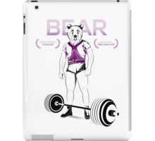 BearMan iPad Case/Skin