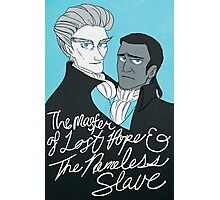 the master of lost hope & the nameless slave Photographic Print