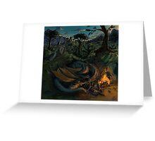Dragon Camp Greeting Card