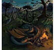 Dragon Camp Photographic Print