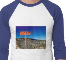 Below Sea Level Men's Baseball ¾ T-Shirt