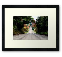 The Road of Dreams Framed Print