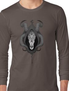 The Mask of Grenth Long Sleeve T-Shirt