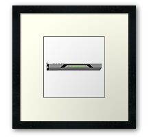 PC Master Race GPU Design Framed Print