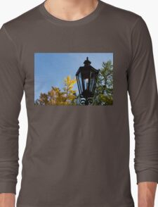 One Fine Autumn Day With an Antique Gas Lantern Long Sleeve T-Shirt