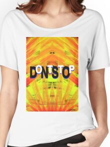 DontStop Women's Relaxed Fit T-Shirt
