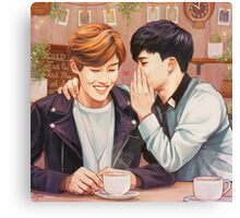 JiHope Commission  Canvas Print