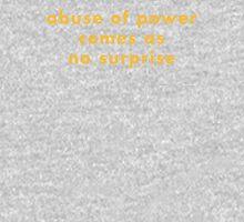 ABUSE OF POWER Unisex T-Shirt