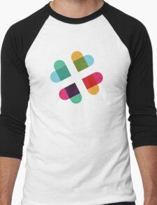 #Slack in Love Men's Baseball ¾ T-Shirt
