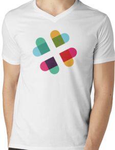 #Slack in Love Mens V-Neck T-Shirt