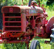McCormick Farmall Tractor Sticker