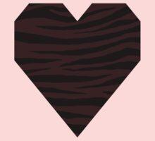 0197 Dark Sienna Tiger Kids Tee