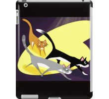 Three Cats At Night iPad Case/Skin