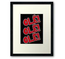 OLÉ Framed Print