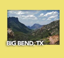 Big Bend Landscape 1 Kids Tee
