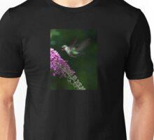 Butterfly Bush & Hummer Unisex T-Shirt
