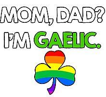 St. Patrick's Gay Gaelic Photographic Print