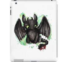Toothless Watercolor iPad Case/Skin