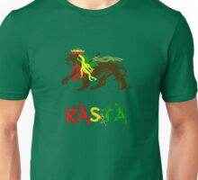 Reggae Rasta, Rastafari Lion 2 Unisex T-Shirt