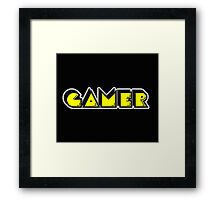 Gamer 2.  Framed Print