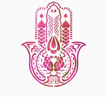 Hamsa Hand Hippie Pink Unisex T-Shirt