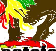 Reggae Rasta, Rastafari Lion 3 Sticker