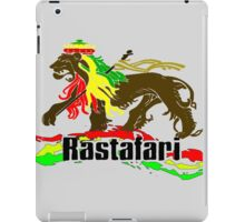 Reggae Rasta, Rastafari Lion 3 iPad Case/Skin