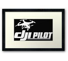 DJI Pilot Drone Framed Print