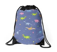 Party Dinosaurs Drawstring Bag