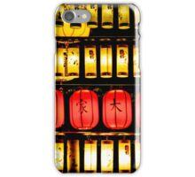 Chinese Lanterns  iPhone Case/Skin