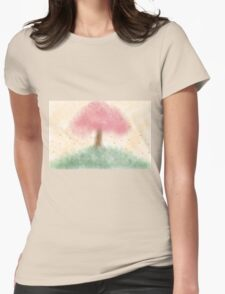 Passing Blossom Womens Fitted T-Shirt