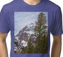 Hiking to Taggart Lake Tri-blend T-Shirt