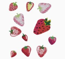 Strawberry Spectacular  Kids Tee