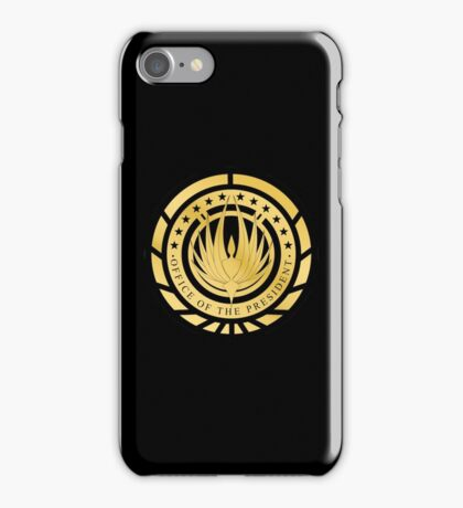 Presidential Seal of the twelve colonies Golden Logo iPhone Case/Skin